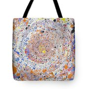 Spiral Vibrations And Movement Tote Bag