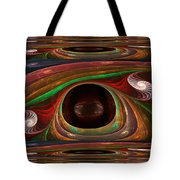 Spiral Warp Tote Bag