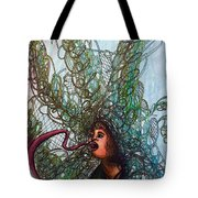 Spiraled Tote Bag