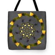 Spiraling Gerberas Tote Bag