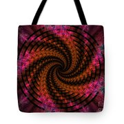 Spiraling Into The Abyss Tote Bag