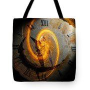 Spiraling Through Time Tote Bag