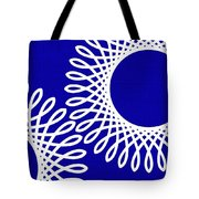 Spirals With Blue Tote Bag