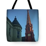 Spire Of Chinatown Tote Bag