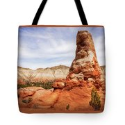 Spire Rocks At Kodachrome Basin State Park Tote Bag