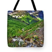 Spires And Stream Tote Bag
