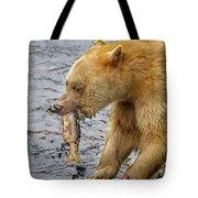 Spirit Bear Take Out  9636 Tote Bag