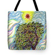 Spirit In The Tree Tote Bag