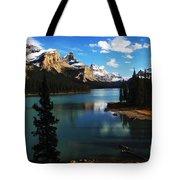 Spirit Island Jasper Canada Tote Bag