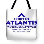 Spirit Of Atlantis Logo Tote Bag
