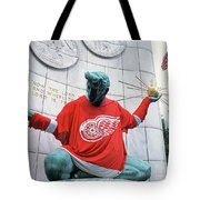 Spirit Of Detroit Tote Bag