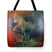 Spirit Of Mustang Tote Bag