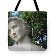 The Spirit Of Nursing Statue Up Close Tote Bag