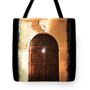 Spirit Of The Alamo With Framing Tote Bag