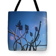 Spirit Of The Staithes Tote Bag
