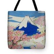 Spirit Of Ukiyo-e Illuminated By Stunning Nature Tote Bag