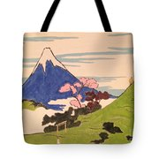 Spirit Of Ukiyo-e In The Light Of Shinto Tote Bag