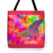 Spirit Whale Tote Bag by Nick Gustafson