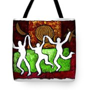 Spirits Of The Dance Tote Bag
