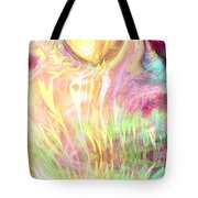 Spirits Of The Sun Tote Bag by Linda Sannuti