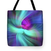 Spiritual Freedom. Mystery Of Colors Tote Bag