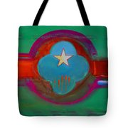 Spiritual Green Tote Bag
