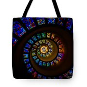 Spiritual Spiral Tote Bag by Inge Johnsson