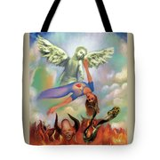 Spiritual Warfare Of Heart And Mind Tote Bag