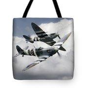 Spitfire Flying Legends Tote Bag
