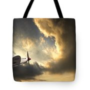 Spitfire Tote Bag by Meirion Matthias