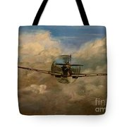 Spitfire Mk19 1945 Warbird - Dedicated To My Closest Friend Melody Lasola 08 08 83 - 25 10 09 Tote Bag