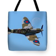 Spitfire Moon Tote Bag