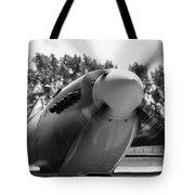 Spitfire Nose Tote Bag