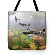 Spitfire Sweep Colour Version Tote Bag
