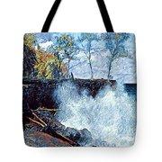 Splash At Mackenzie Tote Bag