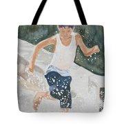 Splash Dance Tote Bag