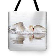 Splash Landing I Tote Bag