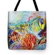 Splash Of Life #14 Red Sea  Tote Bag