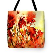 Splash Of Red Tote Bag