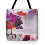 Splash Tree Art  Tote Bag