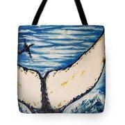 Ocean Tail Tote Bag