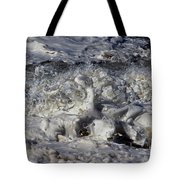 Splashy Incantations Of A Momenary Water Sculpture Tote Bag