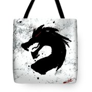 Splat O Dragon Tote Bag