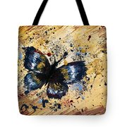 Splatter Butterfly Tote Bag