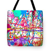 Splatter Paint Tote Bag