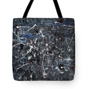 Splattered - Grey Tote Bag