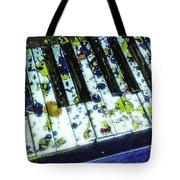 Splattered Keys Tote Bag