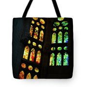 Splendid Stained Glass Windows Tote Bag