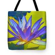 Splendid Water Lily Tote Bag