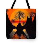 Splintered  Sunlight Tote Bag